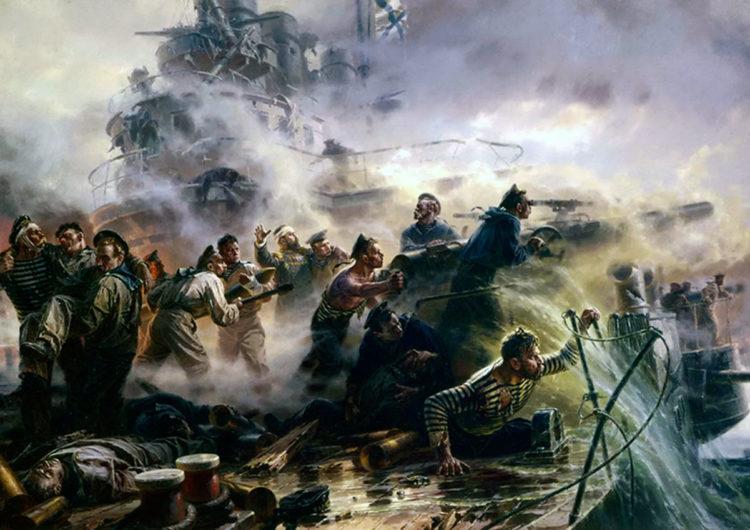 В России прошли торжественные мероприятия памяти очередной годовщины героического боя крейсера «Варяг»