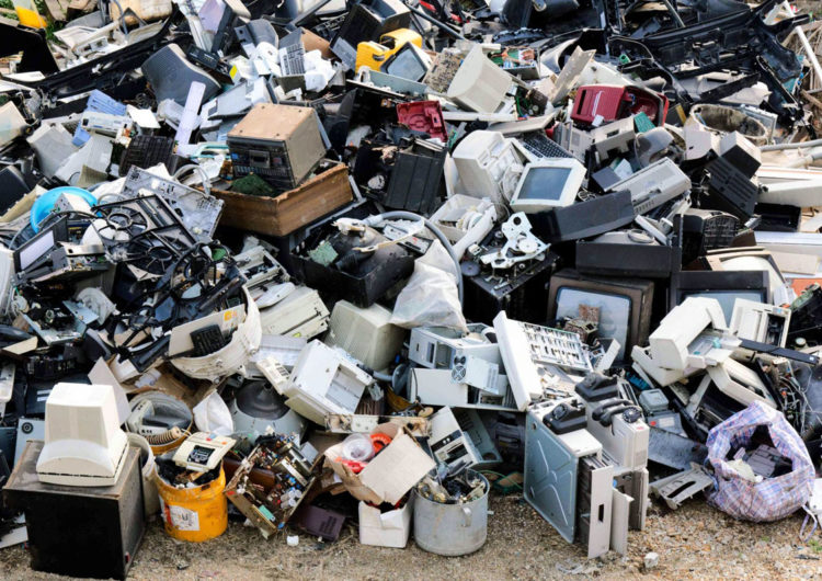 Волонтеры Подольска собрали более 2 тонн электролома
