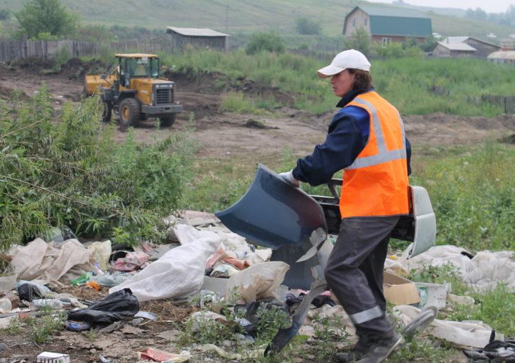Власти Московской области продолжают «зачистку» мусорок и свалок