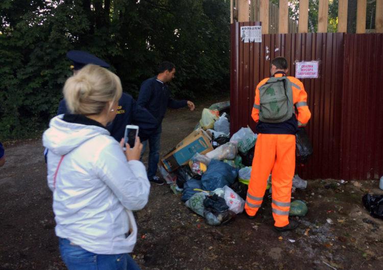 В Подмосковье планируется спецоперация по борьбе с мусором