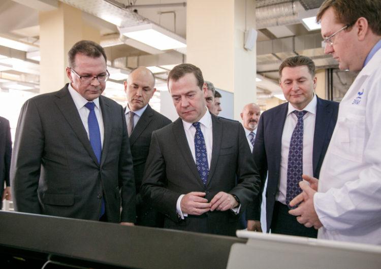 Дмитрий Медведев посетил Красногорск с рабочим визитом