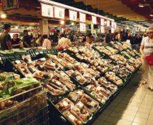 Во сколько обошлись москвичу в октябре походы по продуктовым магазинам