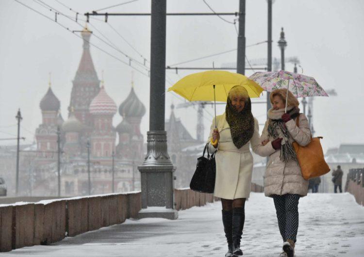 Синоптики обещают первые сугробы в Москве в начале декабря