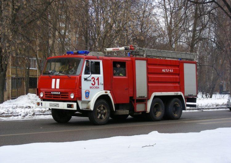 В столичном Ховрино загорелся центр соцобслуживания