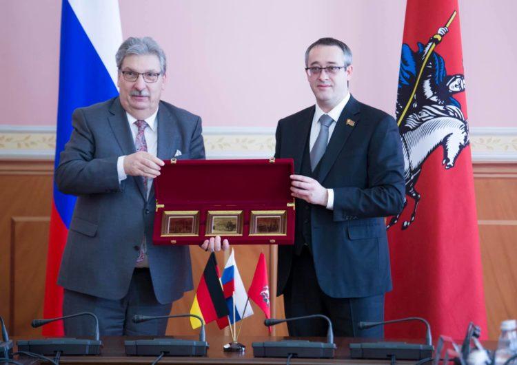 Опыт бюджетной и миграционной политики Москвы заинтересовал делегацию Палаты депутатов Берлина