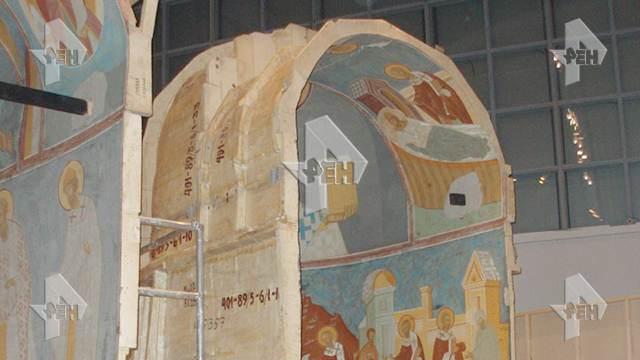 В пожаре сгорели сокровища фонда музея им. Андрея Рублёва в Москве