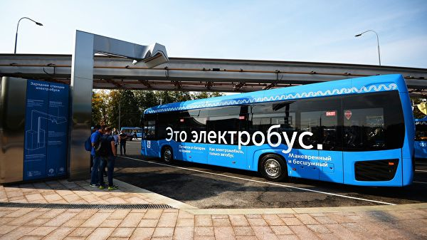 Московский электробус заслуженно стал «Проектом года» — Зотов