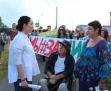 В борьбу против неэкологичного автобусного парка в Митино включилась Сабина Цветкова
