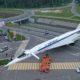 Самолёт-памятник Ту-144 установили в Жуковском в преддверии МАКС-2019