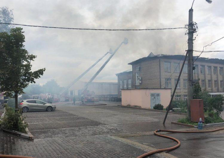 Следком возбудил уголовное дело по факту пожара на ТЭЦ в Мытищах