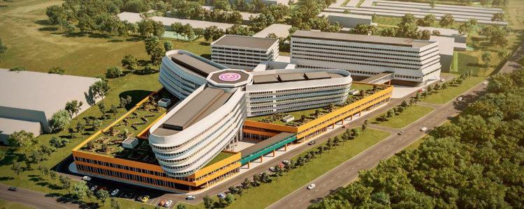 В Красногорске построят многопрофильный детский медицинский центр