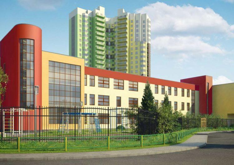 В Крылатском построят школу в форме самолёта