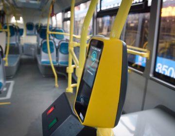 Более 500 столичных автобусов оборудованы валидаторами от Сбербанка