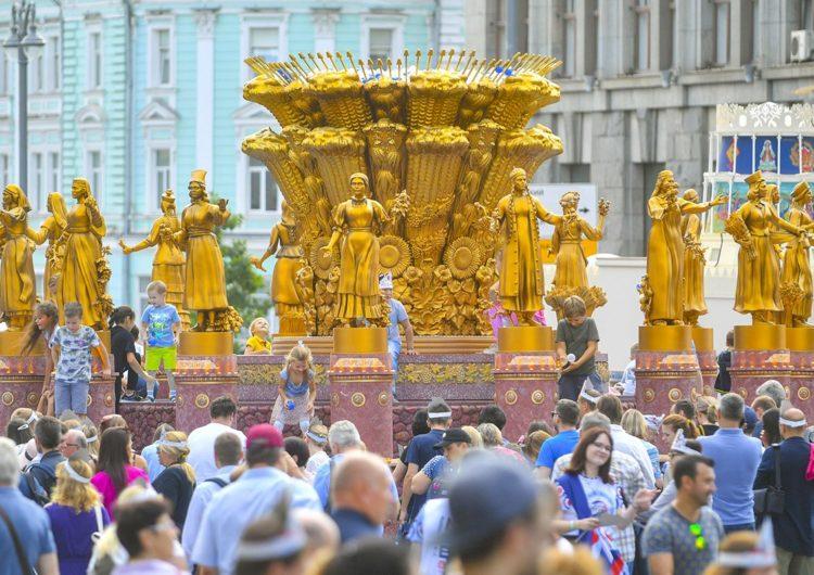 В День города гостями праздника на Тверской стали почти 3 млн человек