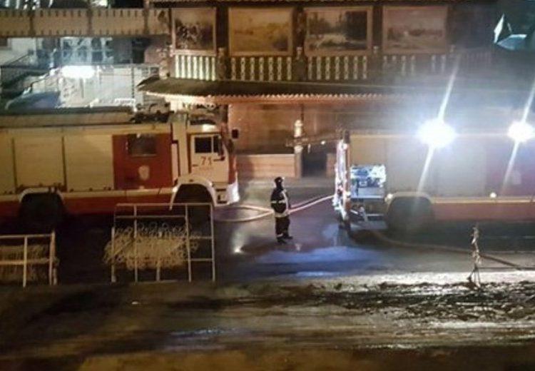 Семь человек пострадали в результате пожара в хостеле на востоке Москвы