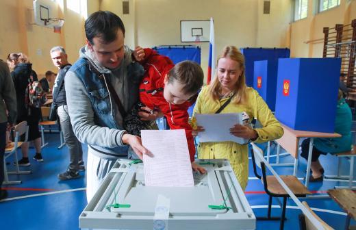 Средняя явка на выборы в Москве составила 21,77 %