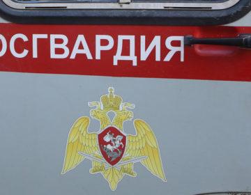 На сотрудников Росгвардии напали возле Счётной палаты в Москве