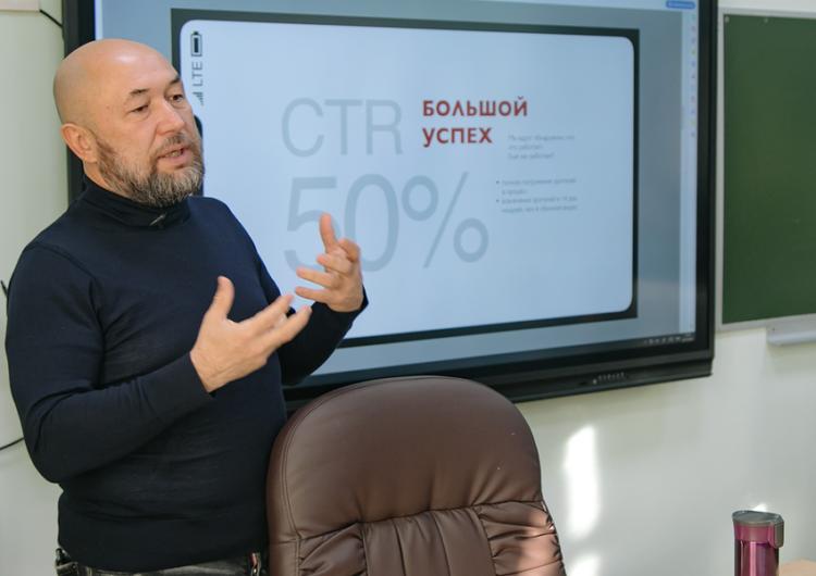 Режиссёр Бекмамбетов провёл урок кино в столичной школе
