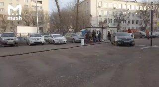 На Таганке из-за парковки произошла драка между жильцами и рабочими