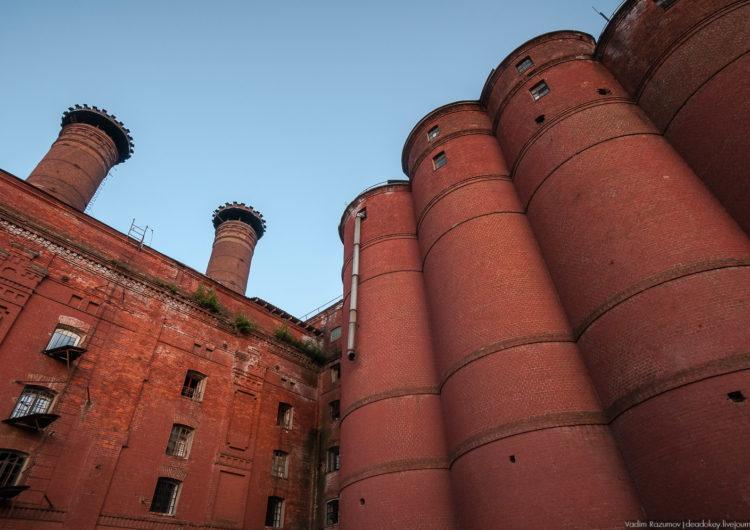 Русская баня может появиться в башне элеватора бывшего пивзавода