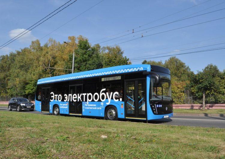 Московские пассажиры назвали электробус любимым видом транспорта