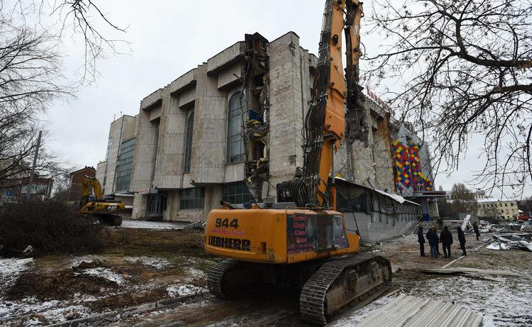 Собянин пообещал новый кинотеатр в будущем ТРЦ на месте «Соловья»