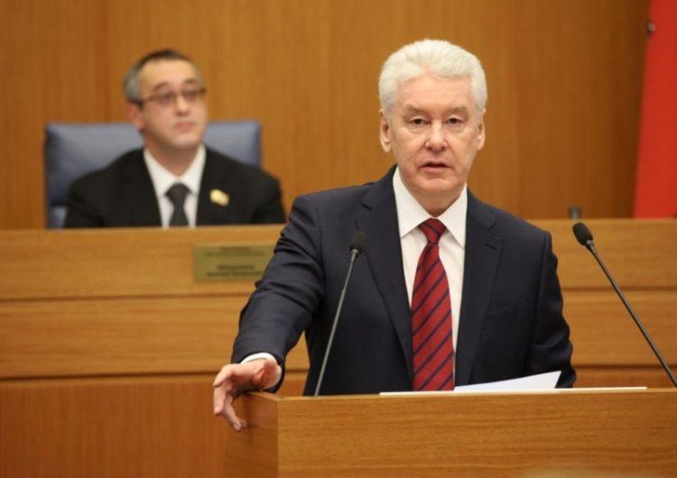 Мосгордума поддержала ежегодный отчёт мэра большинством голосов