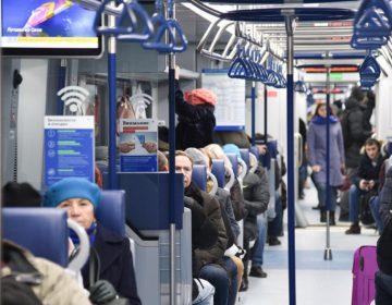 В столичном метро отметили снижение нагрузки после запуска МЦД