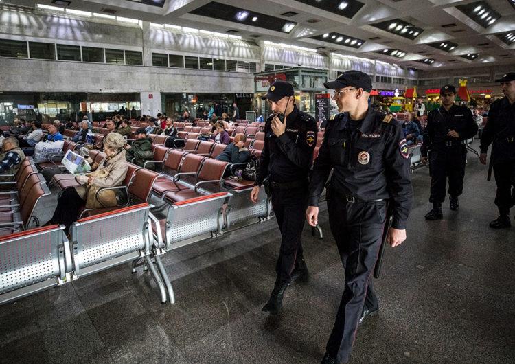 Проверку на семи вокзалах Москвы после угроз взрывов начали без эвакуации