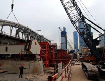 Поезда МЦД-1 пойдут по новому мосту через Москву-реку