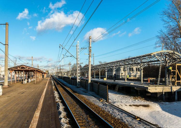 На станциях «Новогиреево» и «Кусково» добавят новые платформы для МЦД-4