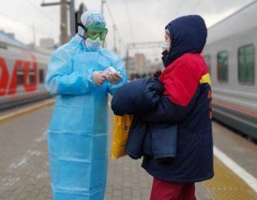 Врачи встретили поезд Киев — Москва, с которого сняли заболевшую китаянку