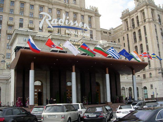 Radisson Collection Hotel стал лучшим пятизвёздочником в бизнес-сегменте