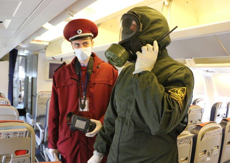Власти начали розыск пассажиров самолётов с прибывшими 20 заражёнными коронавирусом