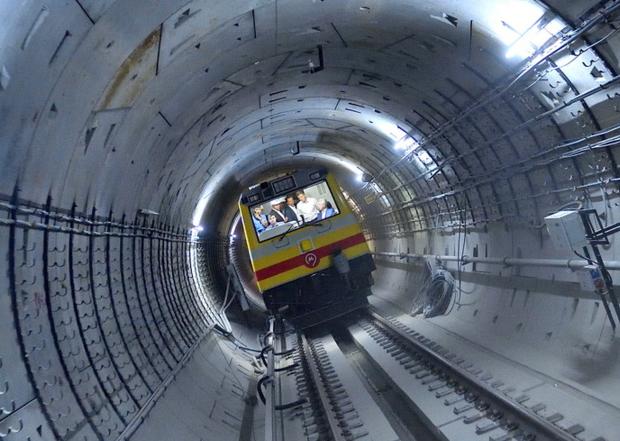 Тоннели БКЛ столичного метро построили на 80 процентов