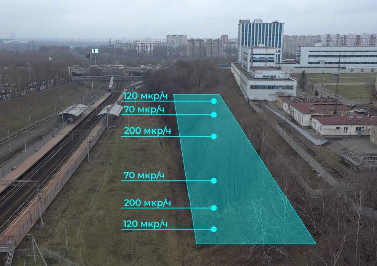 Площадку с радиоактивным грунтом в зоне ЮВХ огородили и поставили камеры