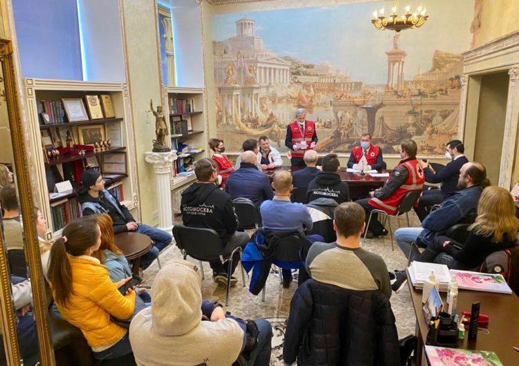 Красный Крест поддержит москвичей акцией «В карантин – ты не один!»
