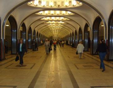 В московском метро появились указатели к свободным вагонам