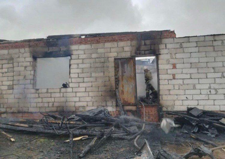 При пожаре в Подмосковье погибли 6 человек