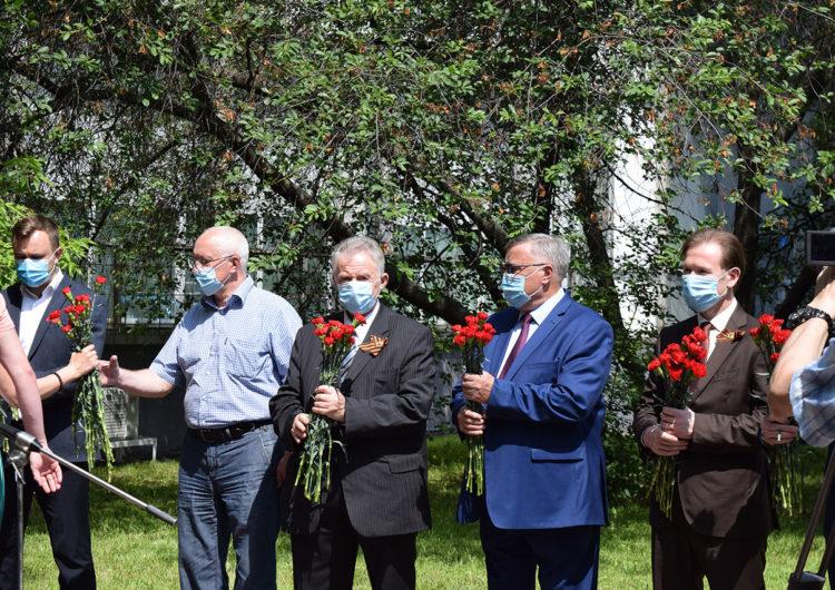 В Москве почтили память воинов-автомобилистов, погибших в ВОВ