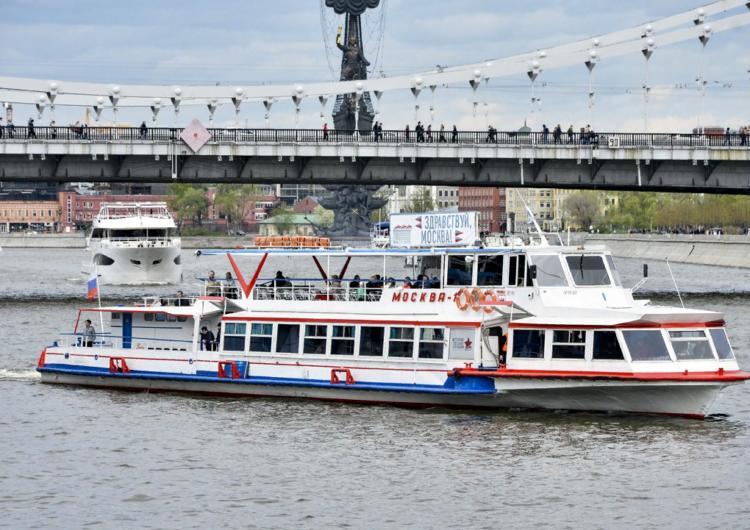 В Москве и области с 14 июня начнут снимать запрет на движение пассажирских судов