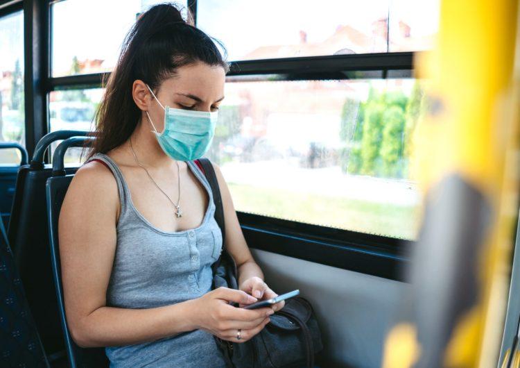 В Подмосковье усилили проверки наличия масок у пассажиров