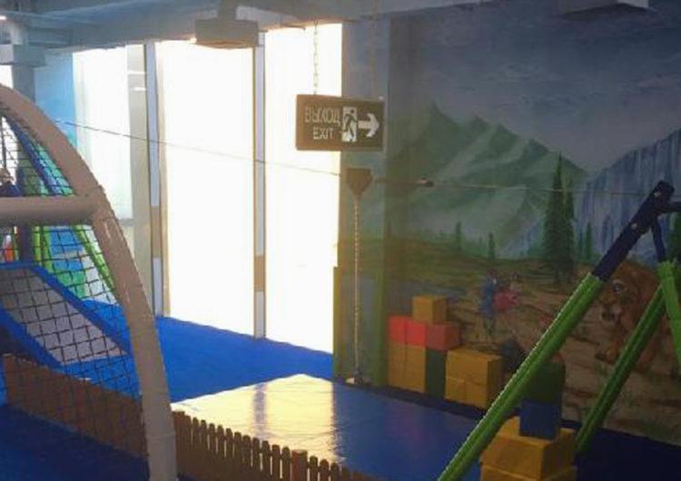 В игровой зоне московкого ТЦ ребенок получил травму позвоночника, упав с аттракциона