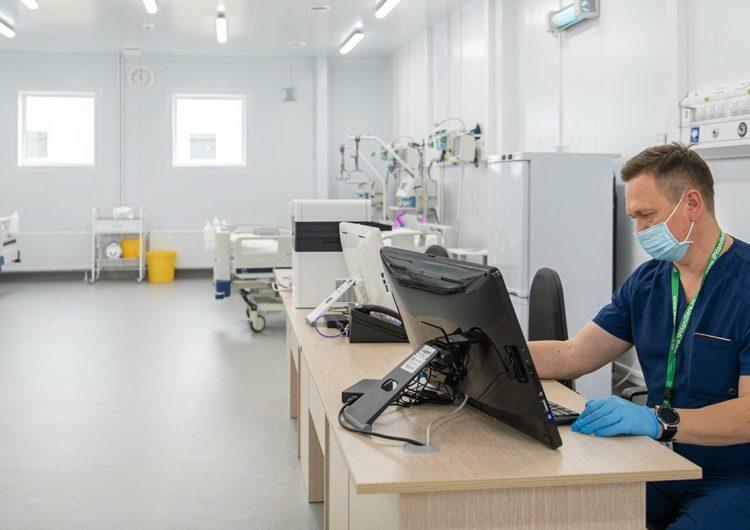 В Москве открылся пятый резервный госпиталь для больных COVID-19 на базе Коммунарки