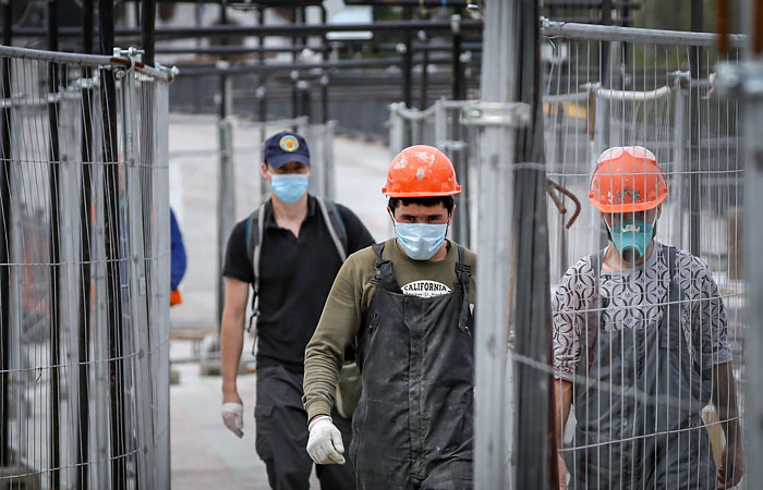 Дефицит рабочей силы на некоторых стройплощадка столицы достиг 30%