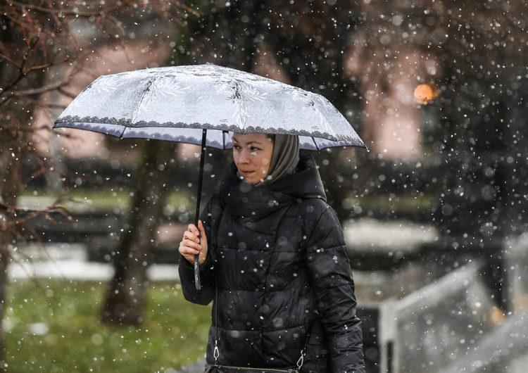 Москвичам пообещали снег к концу ноября