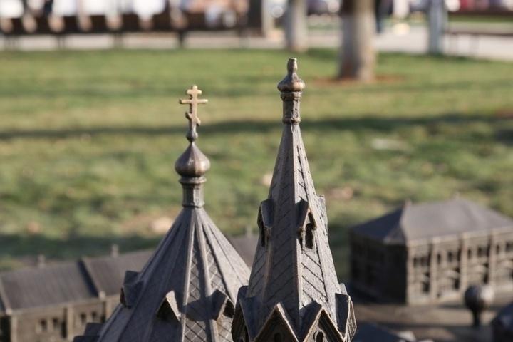 В Серпухове ищут похитителей креста с макета храма на Торговой площади