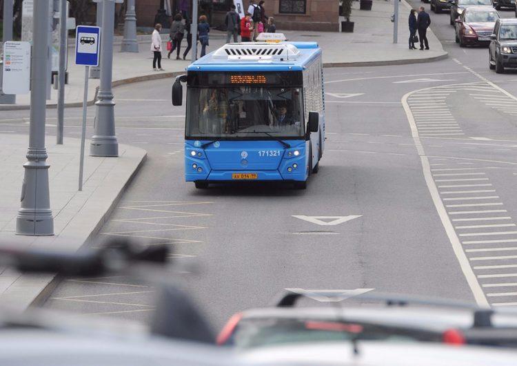 До конца года в Москве запустят три новые полосы для городского транспорта