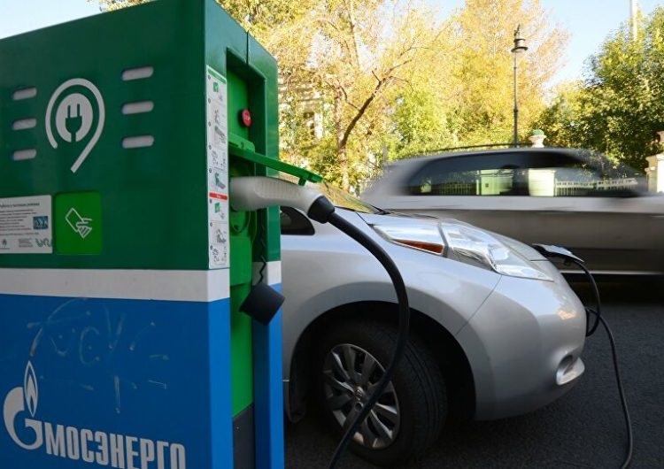 В 2021 году в Москве появится более 150 зарядных станций для электромобилей