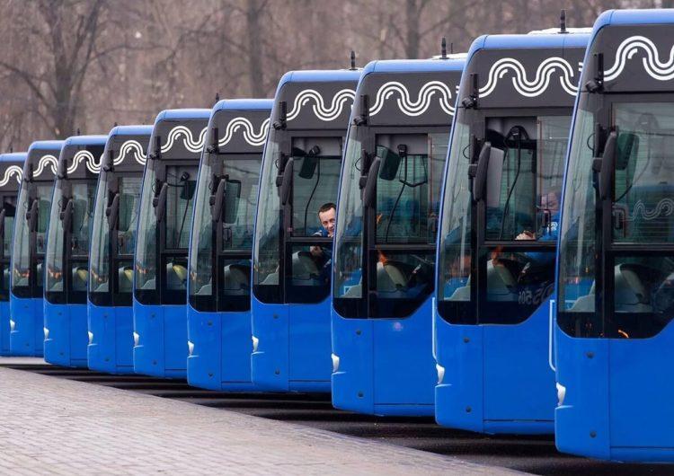 Собянин рассказал о планах по обновлению общественного транспорта в Москве